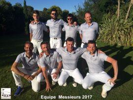 Equipe 1 messieurs 2017